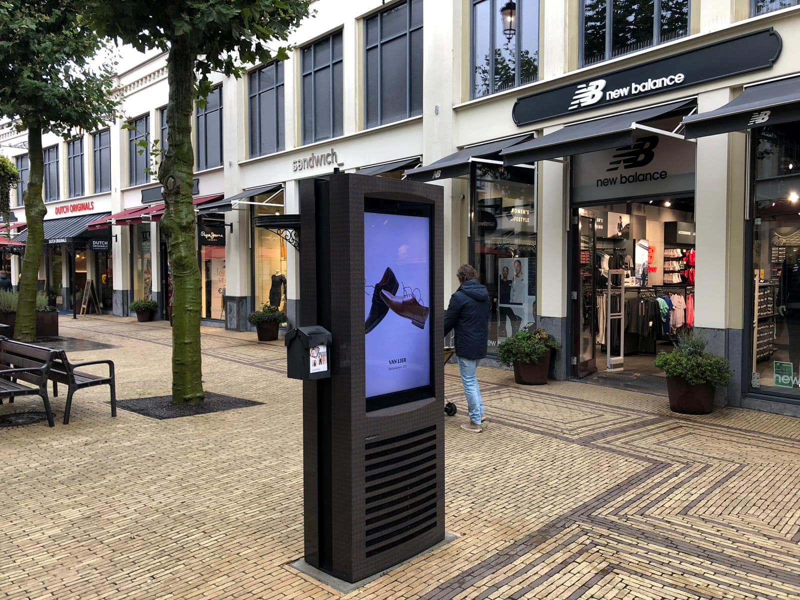 Kiosk - Bataviastad - Digital Signage - Outdoor - Touchscreen - Digital Pixel Marketing